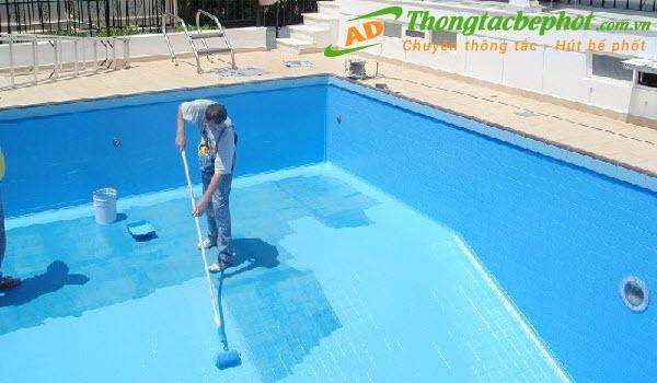 Cách chống thấm bể bơi hiệu quả và an toàn