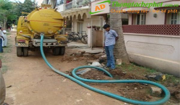 Dịch vụ hút bể phốt tại Quận Thanh Xuân Hà Nội