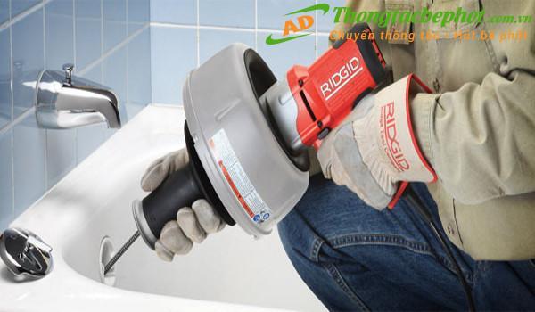 Dịch vụ thông tắc ống nước tại Hà Nội