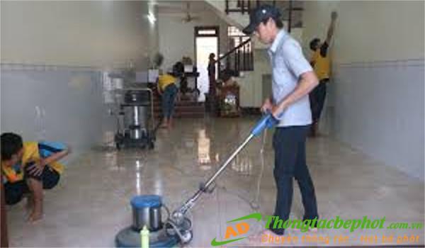 Dịch vụ vệ sinh công nghiệp tại Hoàng Mai Hà Nội