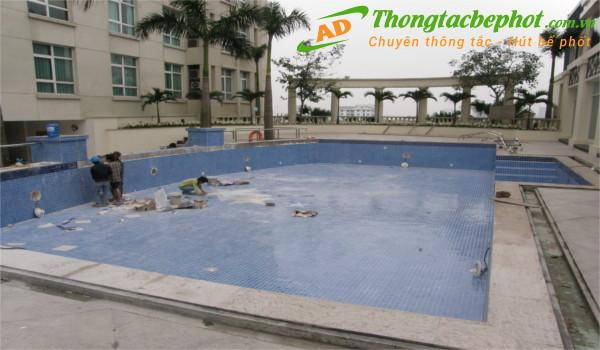Dịch vụ chống thấm bể bơi an toàn giá rẻ