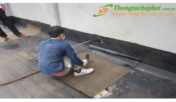 Dịch vụ chống thấm giá rẻ tại Hà Nội