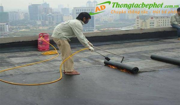 Dịch vụ chống thấm tại quận Hoàng Mai Hà Nội