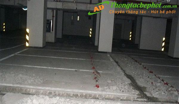 Dịch vụ chống thấm tầng hầm cho các khu chung cư kiểu mới