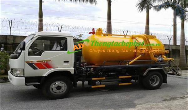 Dịch vụ hút bể phốt giá rẻ tại Hà Nội