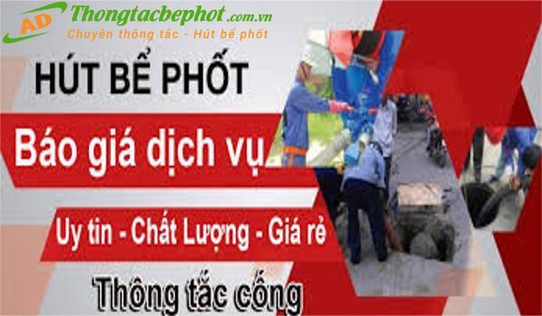 Dịch vụ hút bể phốt tại Hoàng Mai Hà Nội
