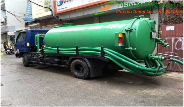 Dịch vụ hút bể phốt tại quận Bắc Từ Liêm Hà Nội