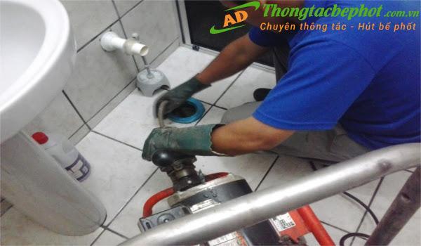 Dịch vụ thông cống giá rẻ tại Ánh Dương Hà Nội