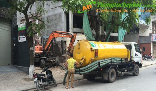 Dịch vụ thông tắc bể phốt quận Hai Bà Trưng Hà Nội