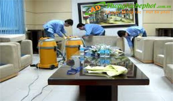 Dịch vụ vệ sinh công nghiệp tại quận Hai Bà Trưng Hà Nội