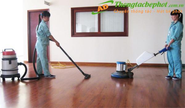 Gói dịch vụ đánh bóng sàn gỗ tại Ánh Dương Hà Nội