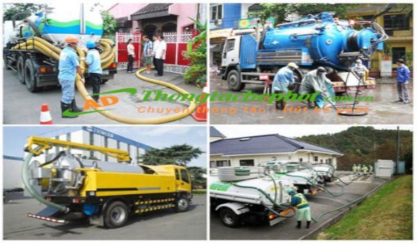 Hút bể phốt tại Hà Nội chuyên nghiệp, uy tín, chất lượng